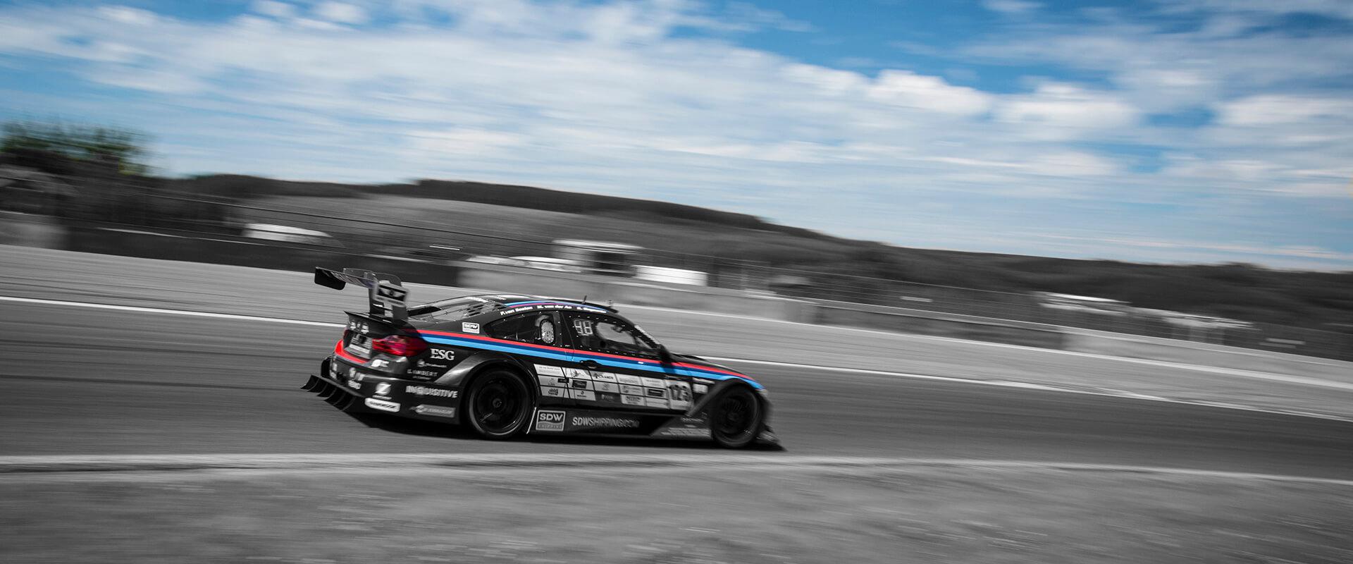 M4 on track